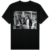Jane Birkin and Serge Gainsbourg in London Shopping in Berwick Street Market T-shirt