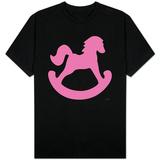Pink Rocking Horse T-Shirt
