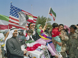 Gulf War Kuwait Liberation Photographic Print by J. Scott Applewhite