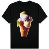 Ice Cream, Fruit Varieties T-shirts