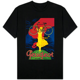 Peugeot Bicycle Vintage Poster - Europe T-shirts
