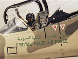 Saudi Arabia Army Royal Saudi Air Force F-15 Eagle Fighter Jet Photographic Print by  Anonymous