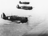 WWII British RAF Patrol Photographic Print by  Anonymous