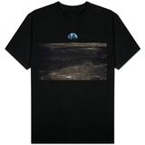 Earth Rising Above the Moon Skjorte