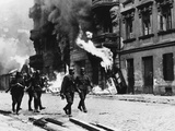 WWII Poland Ghetto Destroyed 1943 Photographic Print by  Anonymous