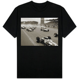 Start of the British Grand Prix at Siverstone, 1965 T-shirts