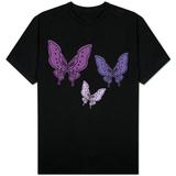 Purple Butterfly T-skjorter