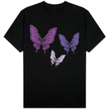 Purple Butterfly T-shirts