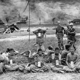 Korean War POWs Photographic Print
