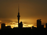 APTOPIX New Zealand the Sky Tower Photographic Print by Alastair Grant