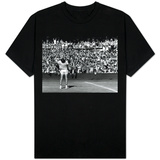 Centre Court Crowd Wildly Acclaim Bjorn Borg's Feat of Retaining Wimbledon Title T-Shirt