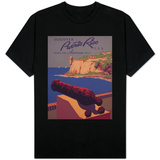 Puerto Rico, USA - Travel Promotional Poster Shirts