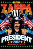 Frank Zappa-For President Print