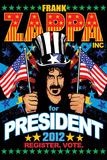Frank Zappa-For President Print