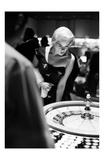 Jayne Mansfield Plays Roulette Prints by Frank Worth
