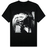 London Underground Tunnels with Bunk Beds, WWII T-Shirt