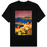 Syria - French Travel Poster, Touring in Syria T-Shirt