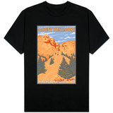 Mount Rushmore National Park, South Dakota T-shirts