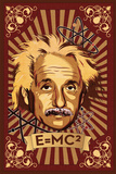 Einstein Mural Print