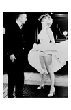 Billy Wilder and Marilyn Monroe Kunstdrucke von Frank Worth