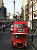 Britain Doubledecker Demise Photographic Print by Lefteris Pitarakis