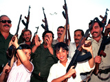 Gulf War Iraqi Militia Youth Photographic Print by Andre Camara