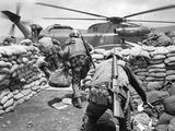 Vietnam War Khe Sanh Siege Photographic Print by Dang Van Phuoc