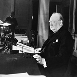 Winston Churchill Photographie