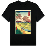 View of the Sunset at Meguro, Edo T-Shirt