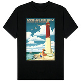 Barnegat Lighthouse - New Jersey Shore T-shirts