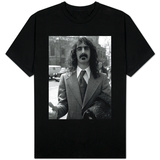 Frank Zappa at Court Over a Conert Cancellation T-Shirt