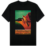 Circuito Di Milano Vintage Poster - Europe T-Shirt