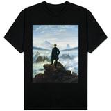 Caminhante sobre o mar de névoa, 1818 Camiseta