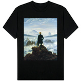 The Wanderer Above the Sea of Fog, 1818 T-shirts