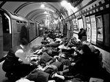 WWII Sheltering Piccadilly Photographic Print by  Anonymous