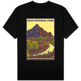 The Watchman, Zion National Park, Utah T-shirts