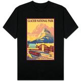 Many Glacier Hotel, Glacier National Park, Montana Skjorter