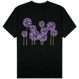 Purple Allium Koszulki
