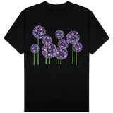 Purple Allium Shirts