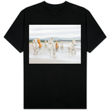 Horses on the Beach Shirts