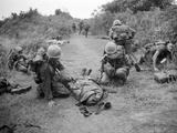 Vietnam War U.S. Casualties Photographic Print by Horst Faas