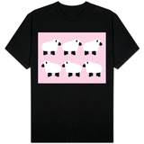 Pink Sheep Family T-shirts