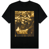 Newsies at the Paper Office, Bank Alley, Syracuse, New York, c.1910 T-Shirt