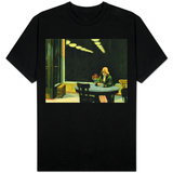 Edward Hopper - Automat Cafe T-shirts