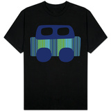 Blue Stripe Car T-shirts