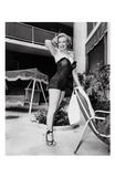 Marilyn Monroe Standing Poolside Posters by Frank Worth