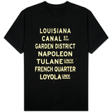 New Orleans Sign T-shirts