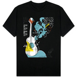 Psychedelic Guitar T-shirts