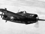 WWII USA Grumann Plane Photographic Print