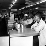 Texas Lunch Counter Sitdown Photographic Print by  Anonymous